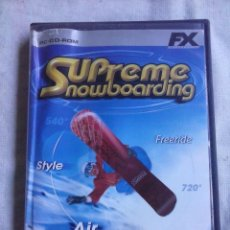 Videojuegos y Consolas - Juego PC Supreme Snowboarding. - 64790147