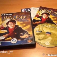 Videojogos e Consolas: HARRY POTTER Y LA CÁMARA SECRETA JUEGO PARA PC CD COMPLETO Y EN ESPAÑOL. Lote 64982459