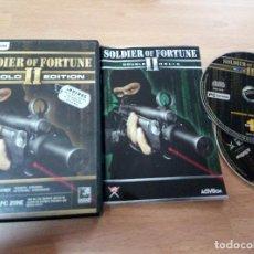 Videojuegos y Consolas: SOLDIER OF FORTUNE 2 II GOLD EDITION - PC COMPLETO - ACCION AVENTURA. Lote 65774086