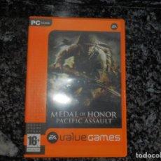 Videojuegos y Consolas: JUEGO PARA PC MEDAL OF HONOR PACIFIC ASAULT . Lote 66436926