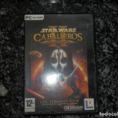 Videojuegos y Consolas: JUEGO PARA PC STAR WARS 2 CABALLEROS DE LA ANTIGUA REPUBLICA. Lote 66504770
