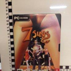 Videojuegos y Consolas: JUEGO PC LOS 7 SINS (M). Lote 66873490