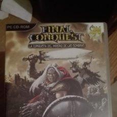 Videojuegos y Consolas: FINAL CONQUEST-JUEGO PC VENTA MINIMA 6EU. Lote 68167965
