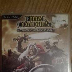 Videojuegos y Consolas: FINAL CONQUEST-JUEGO PC VENTA MINIMA 6EU. Lote 68236593