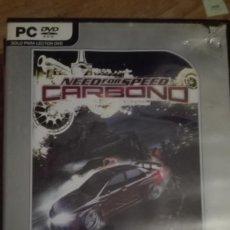 Videojuegos y Consolas: NEED FOR SPEED CARBONO -JUEGO PC-VENTA MINIMA 6 EU. Lote 68238241