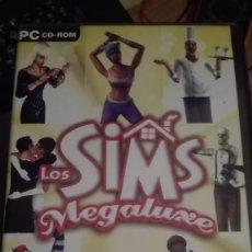 Videojuegos y Consolas: LOS SIMS DE MEGALUXE-JUEGO PC-VENTA MINIMA 6 EU. Lote 68239281