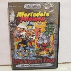 Videojuegos y Consolas: MORTADELO Y FILEMON - TERROR, ESPANTO Y PAVOR - ZETA - COMPLETO - PC - NM+/NM+. Lote 68250141