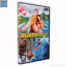 Videojuegos y Consolas: RUNAWAY 1 Y 2 / JUEGO PC 2 DVD-ROM / ESPAÑOL / FX 2007. Lote 48035647