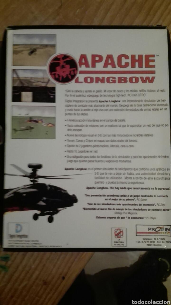 Videojuegos y Consolas: Apache longbow pc.cd.caja grande - Foto 2 - 68391409