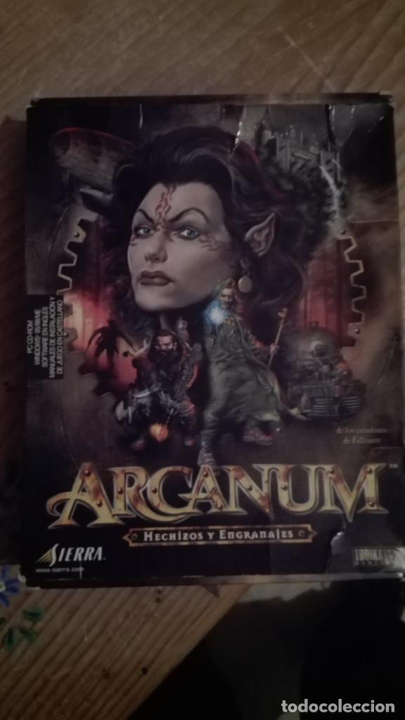 ARCANUM -PC-CD EDICION CAJA GRANDE LEER ANTES DE COMPRAR (Juguetes - Videojuegos y Consolas - PC)