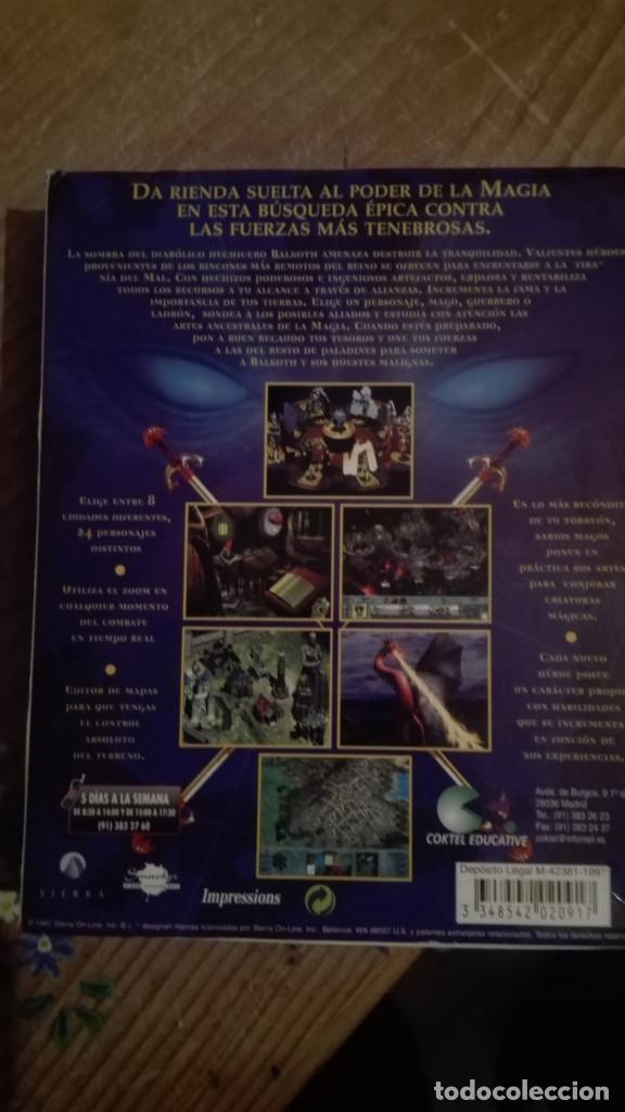 Videojuegos y Consolas: LORDS OF MAGIC PC.CAJA GRANDE - Foto 2 - 68403253