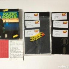 Videojuegos y Consolas: RAZAS DE NOCHE - NIGHTBREED (ERBE SOFTWARE) JUEGO PC DISKETTES 5 1/4 (AÑO 1990). Lote 68971325