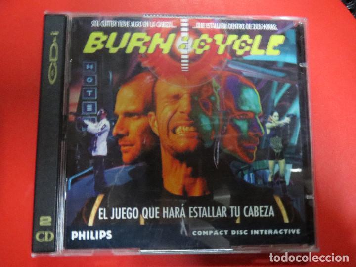 JUEGO BUERN.CYCLE,EL JUEGO QUE HARA ESTALLAR TU CABEZA.PHILISPS. (Juguetes - Videojuegos y Consolas - PC)