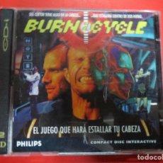 Videojuegos y Consolas: JUEGO BUERN.CYCLE,EL JUEGO QUE HARA ESTALLAR TU CABEZA.PHILISPS.. Lote 69706921