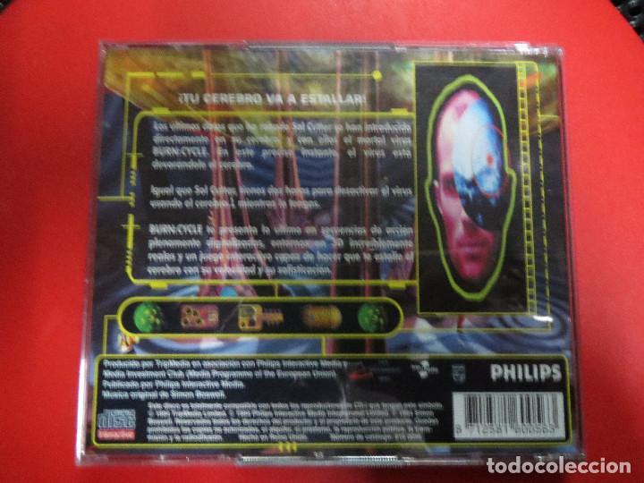 Videojuegos y Consolas: JUEGO BUERN.CYCLE,EL JUEGO QUE HARA ESTALLAR TU CABEZA.PHILISPS. - Foto 2 - 69706921