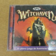 Videojuegos y Consolas: JUEGO PC CD-ROM WITCHAVEN. Lote 69725249