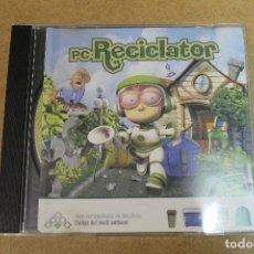 Videojuegos y Consolas: JUEGO PC RECICLATOR ENTITAT DEL MEDI AMBIENT EN CATALAN. Lote 69725781