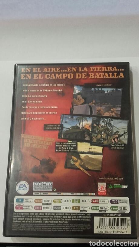 Videojuegos y Consolas: JUEGO PC BATTLEFIELD 1942 Castellano - Foto 3 - 71489439