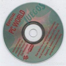 Videojuegos y Consolas: CD-ROM DE LA REVISTA PC WORLD: ESPECIAL PC WORLD JUEGOS. Lote 71626947