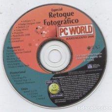 Videojuegos y Consolas: CD-ROM DE LA REVISTA PC WORLD, JULIO/AGOSTO 2000: ESPECIAL RETOQUE FOTOGRAFICO. Lote 71627063