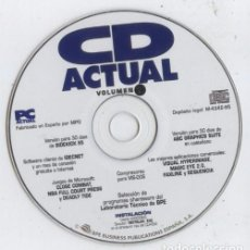Videojuegos y Consolas: CD-ROM DE LA REVISTA PC ACTUAL, DICIEMBRE 1996: VOLUMEN 7. Lote 71627539