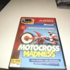 Videojuegos y Consolas: MICROSOFT MOTOCROSS MADNESS SOLO CARATULA. Lote 71873595