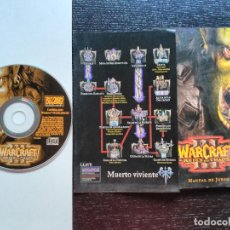 Videojuegos y Consolas: JUEGO PARA PC 'WARCRAFT III - REIGN OF CHAOS'. Lote 195333973