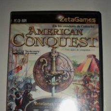 Videojuegos y Consolas - JUEGO PC AMERICAN CONQUEST ZETA GAMES PC CD ROM - 72398855