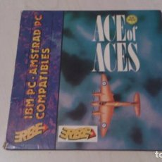 Videojuegos y Consolas: ACE OF ACES PARA PC - DISQUETE 5,25. Lote 73013403