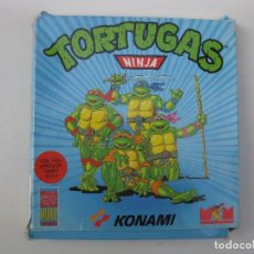Videojuegos y Consolas: LAS TORTUGAS NINJA - ANTIGUO JUEGO PARA PC - MCM SOFTWEAR - PC 5 1/4 KONAMI - 4 DISQUETES - AÑO 1990. Lote 73298939