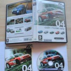 Videojuegos y Consolas: JUEGO PARA PC 'COLIN MCRAE RALLY 04'. Lote 73302327