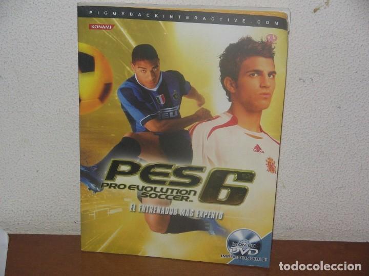 Guia Oficial PES 6 (Pro Evolution Soccer) en Español (incluye DVD)