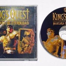 Videojuegos y Consolas: VIDEOJUEGO JUEGO PC KING'S QUEST MASCARA DE ETERNIDAD. Lote 73682123