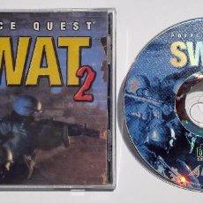 Videojuegos y Consolas: VIDEOJUEGO JUEGO PC POLICE QUEST SWAT 2. Lote 73684855