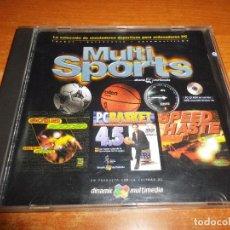 Videojuegos y Consolas: MULTI SPORTS JUEGO PC 1996 ESPAÑA CD MULTIMEDIA. Lote 74347955