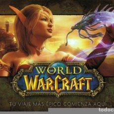 Videojuegos y Consolas: WORLD OF WARCRAFT TU VIAJE MÁS ÉPICO COMIENZA AQUÍ . Lote 74838759