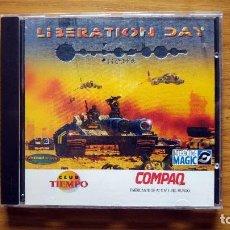 Videojuegos y Consolas: PC CD-ROM: LIBERATION DAY - ESTRATEGIA POR TURNOS - WINDOWS 95. Lote 75014351