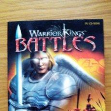 Videojuegos y Consolas: JUEGO PC: WARRIOR KINGS BATTLES - NUEVO -. Lote 76004347