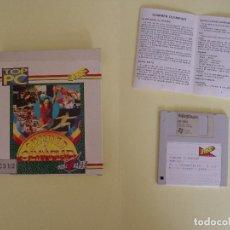 Videojuegos y Consolas: JUEGO ORDENADOR PC 3 ½: SUMMER OLYMPIAD (ERBE, 1992) VINTAGE. COMPLETO ¡ORIGINAL!. Lote 76025435