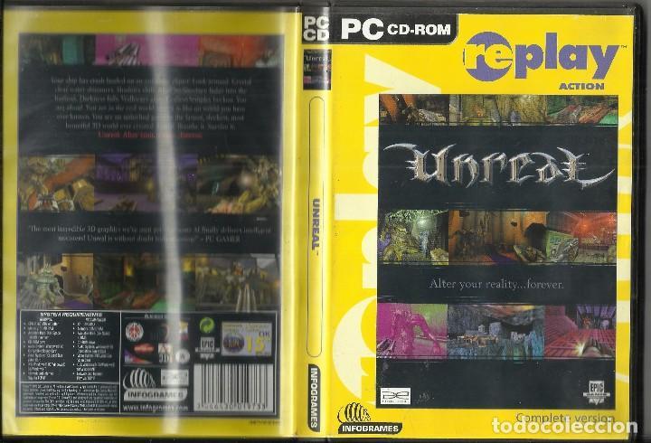 JUEGO PC CD ROM UNREAL (Juguetes - Videojuegos y Consolas - PC)