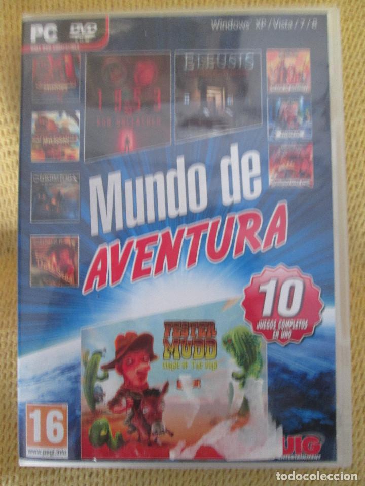MUNDO DE AVENTURA - 10 JUEGOS (Juguetes - Videojuegos y Consolas - PC)