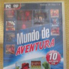 Videojuegos y Consolas: MUNDO DE AVENTURA - 10 JUEGOS. Lote 77533445
