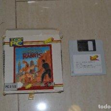 Videojuegos y Consolas: JUEGO PC 3 1/2 NINJA RABBITS . Lote 78069605