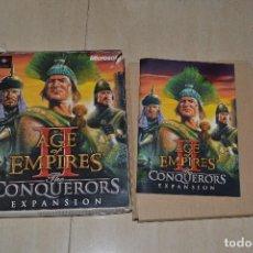 Videojuegos y Consolas: LIBRO INSTRUCCIONES JUEGO AGE OF EMPIRES 2 THE CONQUERORS EXPANSION. Lote 78191313