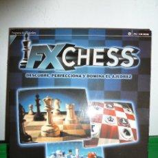 Videojuegos y Consolas: JUEGO FX CHESS PARA PC . Lote 78327669