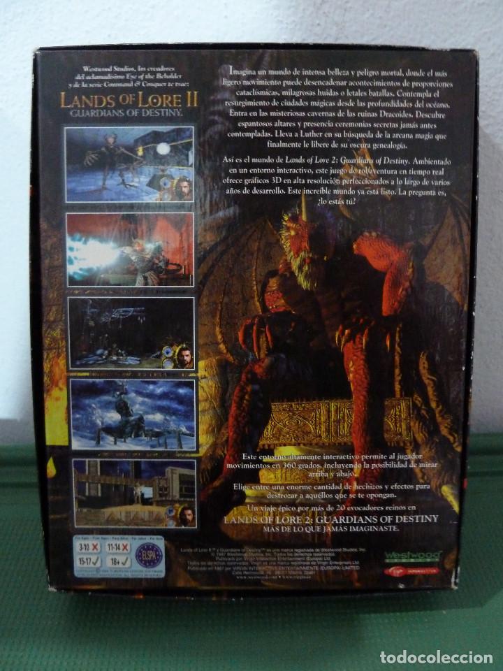 Videojuegos y Consolas: JUEGO LANDS OF LORE II GUARDIANS OF DESTINY PARA PC - Foto 2 - 78363105