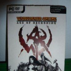 Videojuegos y Consolas: JUEGO WARHAMMER ONLINE AGE OF RECKONING PARA PC INCLUYE DEMO. Lote 78367101