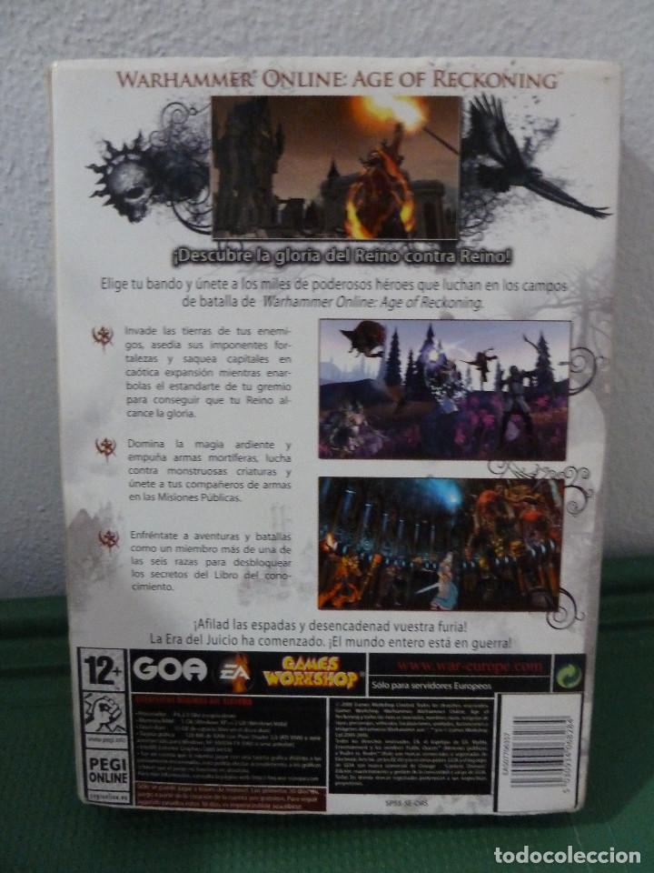 Videojuegos y Consolas: JUEGO WARHAMMER ONLINE AGE OF RECKONING PARA PC INCLUYE DEMO - Foto 2 - 78367101