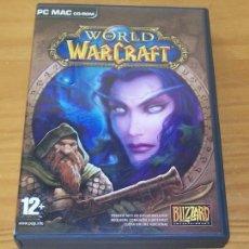 Videojuegos y Consolas: WORLD OF WARCRAFT -PC CD-ROM- BLIZZARD 2004. Lote 78389137