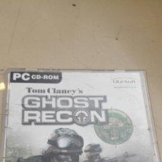 Videojuegos y Consolas: JUEGO ORIGINAL PARA PC GHOST RECON DE UBI SOFT. Lote 86355620